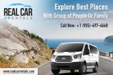 Explore with Real Car Rentals - Rent A Van Now!, brampton